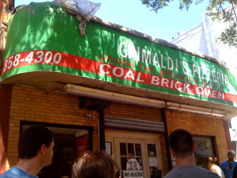 NYで一番おいしいピザ屋さん